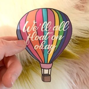 BUNDLE ONLY float on Hot Air Ballon Sticker